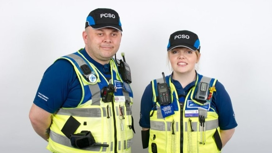 Northamptonshire Police Department will swap out the hats for the caps by June 9.