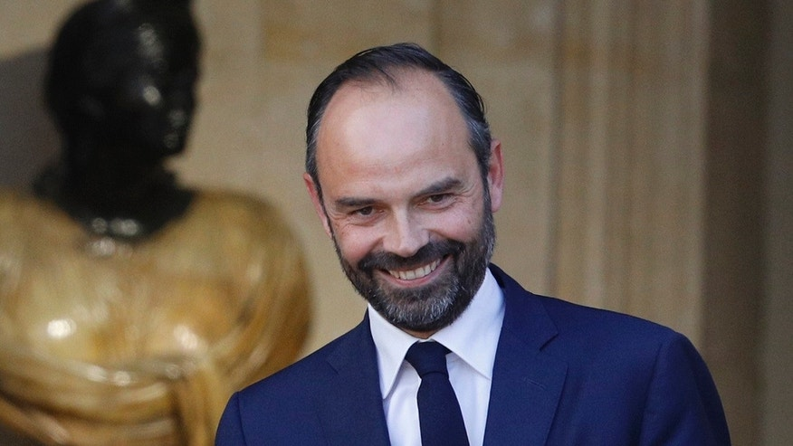 Newly appointed French Prime Minister Edouard Philippe is pictured in Paris on Monday.