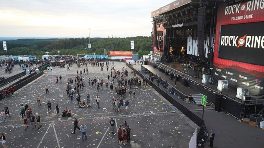 German rock fest cleared to resume after terror-threat scare