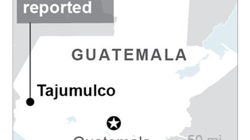 Magnitude 6.9 earthquake triggers landslides, damages homes in Guatemala