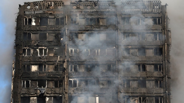 London fire: Death toll rises to 12 after apartment building ...