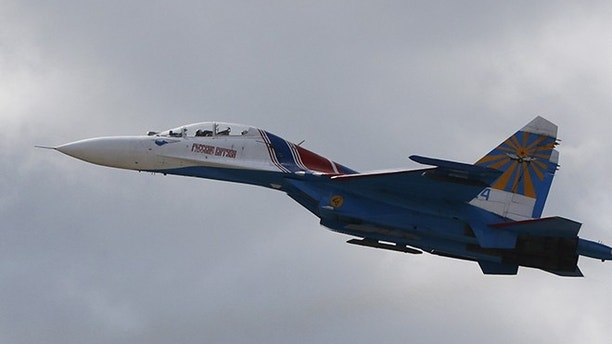 Russian jet comes within 5ft of U.S. recon plane