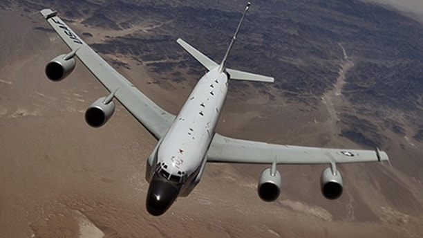 Russian Jet Buzzes US Recon Plane