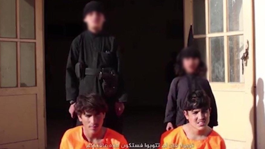 ISIS video screen shot