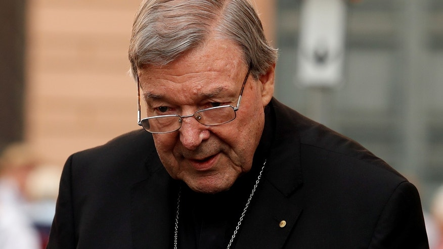 June 29: Cardinal George Pell leaves his house in Rome, Italy