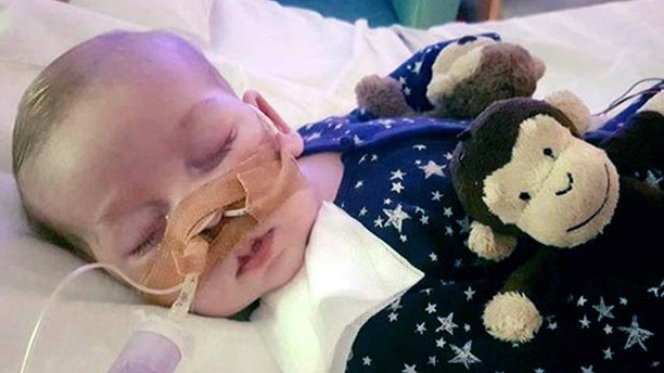 United Kingdom  judge condemns threats to Charlie's hospital