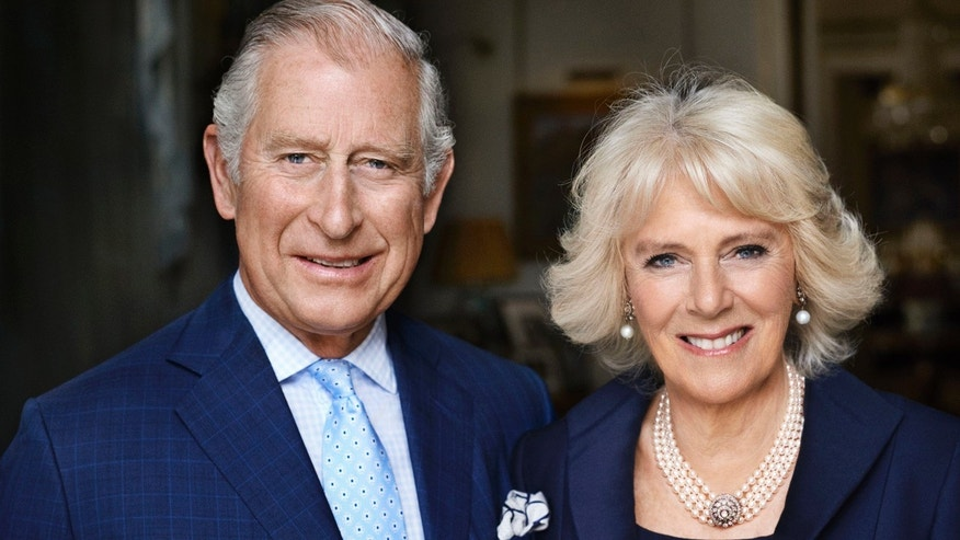 This photo taken in May 2017 shows Britain's Prince Charles and his wife Camilla, Duchess of Cornwall in Clarence House, London.