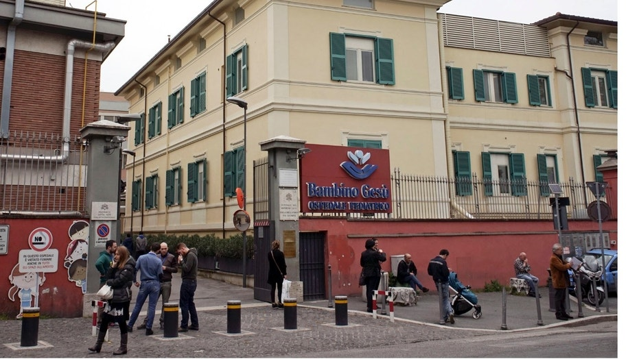 The Vatican-run Bambino Gesu' pediatric hospital in Rome is seen in a 2016 photo.