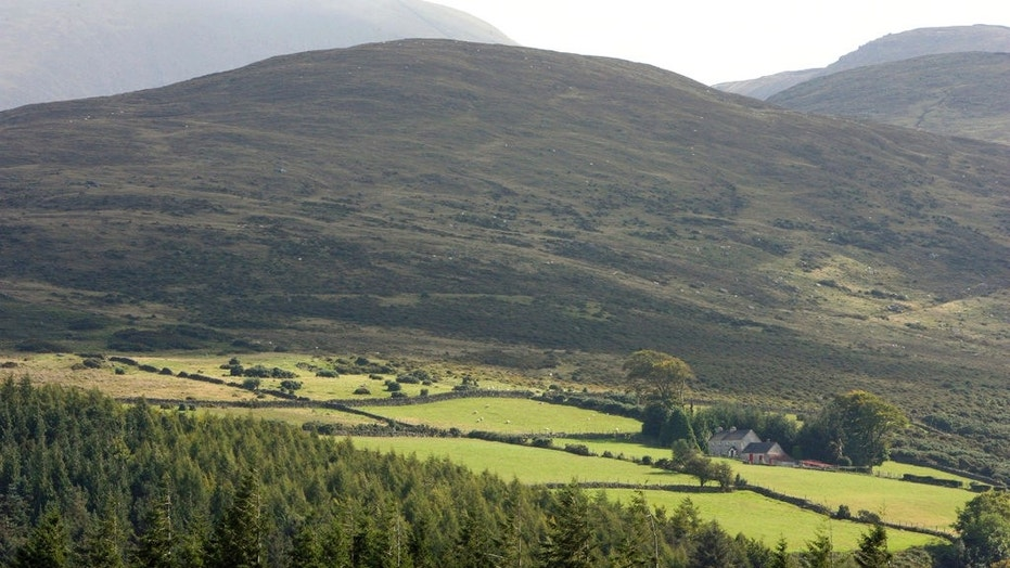 At least 70 people were rescued after they were stranded on Mourne Mountains in Northern Ireland. (AP)