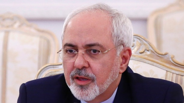 Iranian Foreign Minister Mohammad Javad Zarif speaks during a meeting with his Russian counterpart Sergei Lavrov in Moscow, Russia, December 20, 2016. REUTERS/Maxim Shemetov - RTX2VTQC