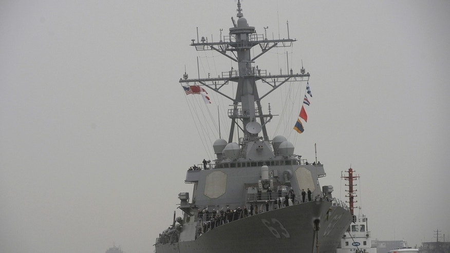 US Navy sailor missing in South China Sea