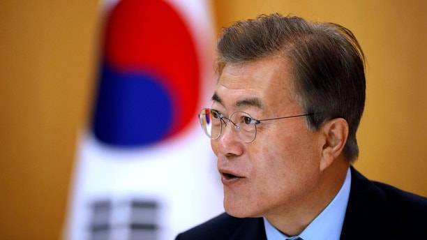 No war on Korean Peninsula: South Korea's Moon