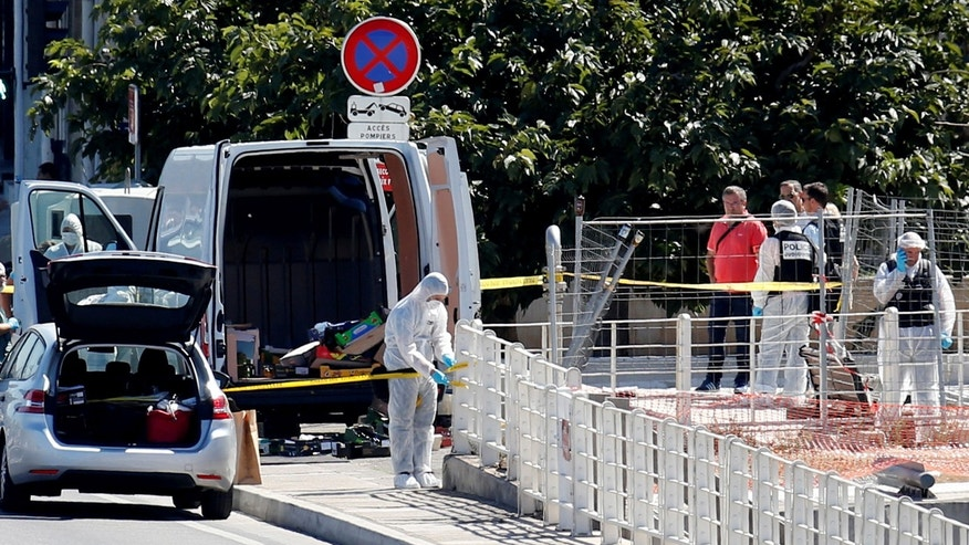 Woman killed in Marseilles as van crashes into bus stop