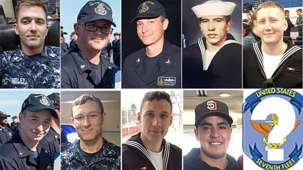 missing soldiers uss mccain