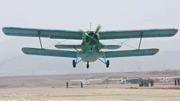 North Korea AN2 planes