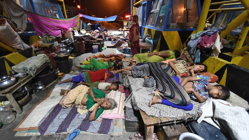 Toddlers among six killed as monsoon rains lash Indian city