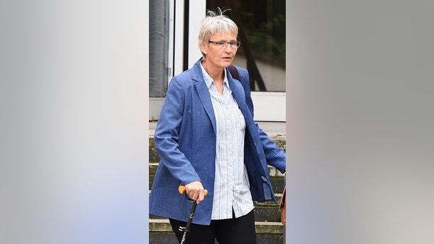 Pictured:  Helen Richardson at Southampton Magistrates' Court.