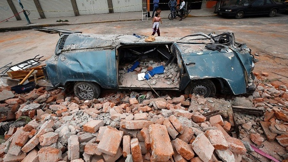 A powerful magnitude 8.1 earthquake struck Mexico on Thursday night, killing at least 61 people.