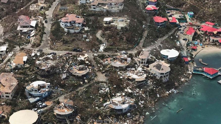 Hurricane Irma 'extensively' damages Saint Martin's famed airport