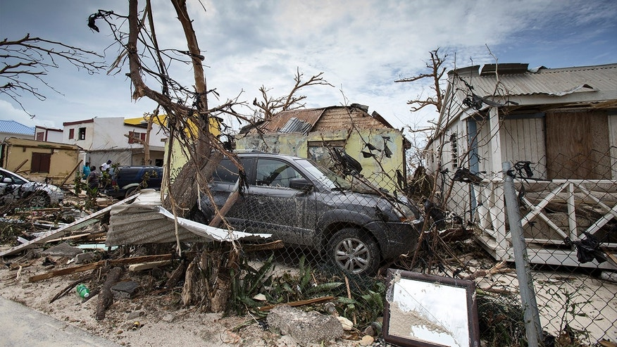 Barbuda devastated after hit by Hurricane Irma