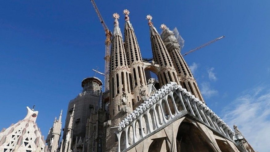 Sagrada Familia evacuation: Barcelona police clear iconic church in anti-terror operation