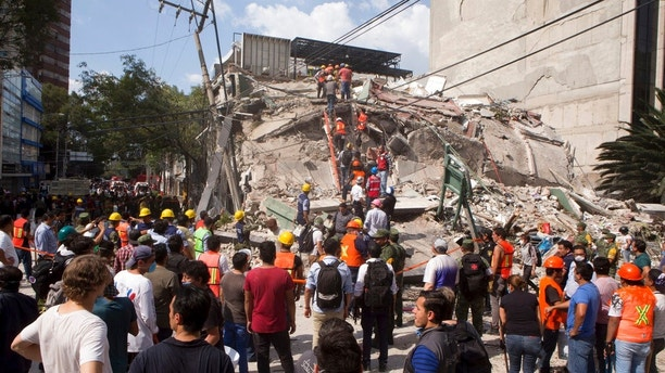 Image result for Death toll in Mexico earthquake reaches 230