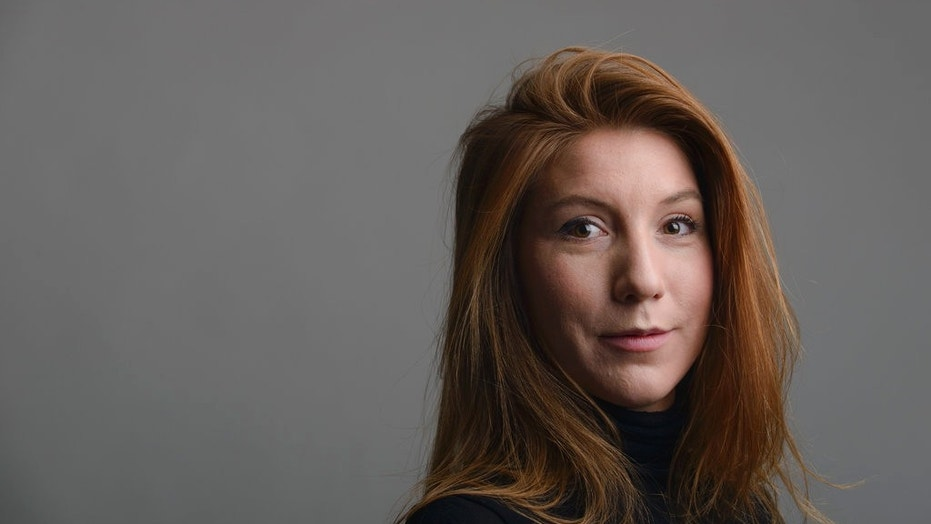 Swedish journalist Kim Wall is seen in a photo taken in Trelleborg, Sweden, Dec. 28, 2015.