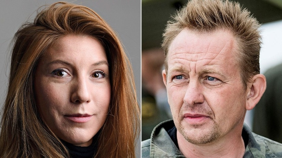 Peter Madsen, right, is charged with killing journalist Kim Wall aboard his homemade Nautilus submarine.
