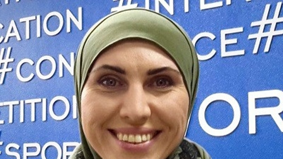 Amina Okuyeva was shot and killed Monday while in the car with her husband, Adam Osmayev, who was injured in the attack.