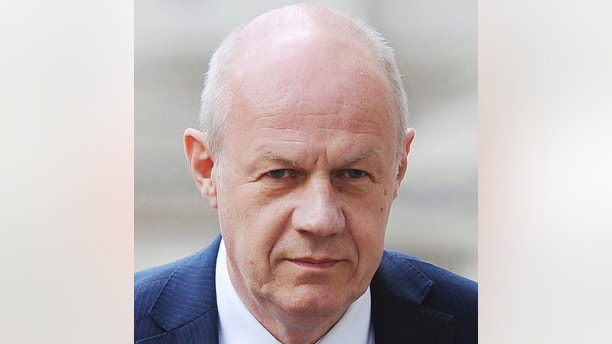 FILE - This July 4, 2016 file photo shows Britain's First Secretary of State Damian Green in London. The scandal surrounding Britain's political class deepened Sunday Nov. 5, 2017, with more allegations of sexual harassment, abuse of power and other misdeeds including new allegations about one of Prime Minister Theresa May's key allies. 