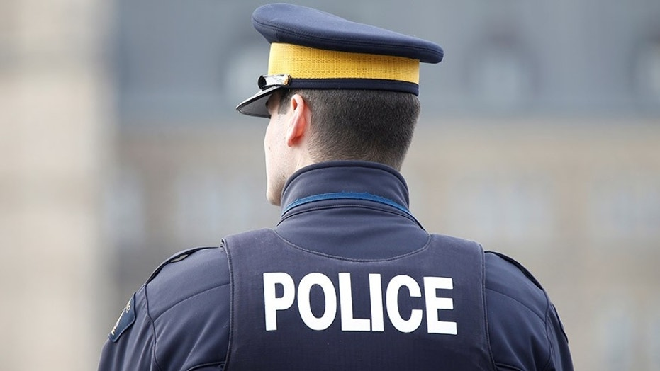 Royal Canadian Mounted Police found five people naked in a car after a collision.