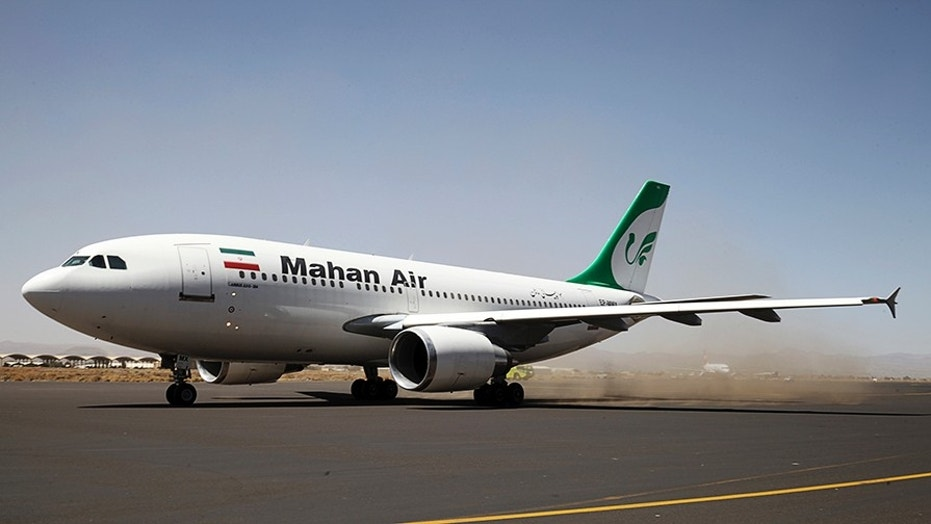 An Iranian opposition group claims that Iran's biggest airline — Mahan Air — is run by the Islamic Revolutionary Guard Corps (IRGC) and its Qods Force.