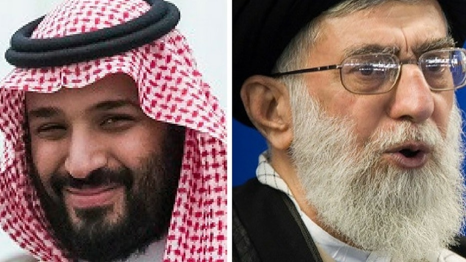 "Saudi Crown Prince Mohammed bin Salman said Iran's Supreme Leader Ayatollah Ali Khamenei was the ""new Hitler of the Middle East."""
