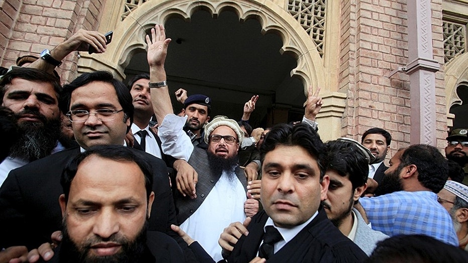 Arrest, book Saeed for sins: USA to Pak