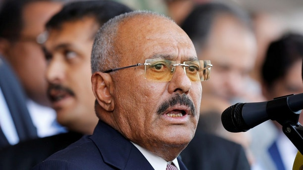 Al-Houthi says Yemen's Saleh killed for treason