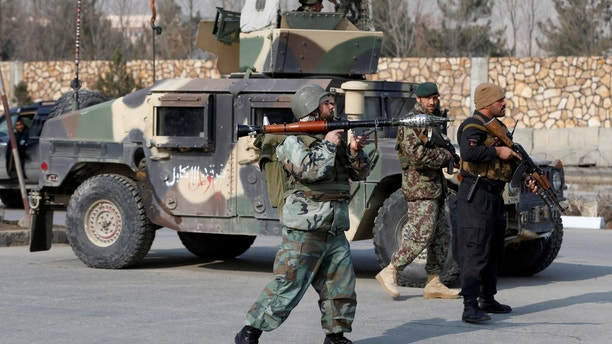 Afghan forces thwart attack on training center in Kabul