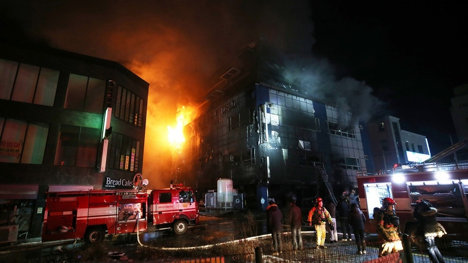 16 killed in South Korea building fire