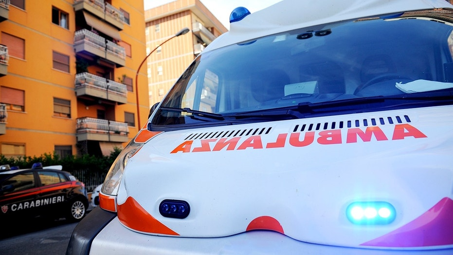 An ambulance in Italy. Police in Sicily have arrested an ambulance worker suspected of intentionally killing patients.