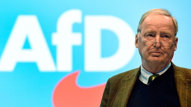 AFD co-leader Alexander Gauland attends the anti-immigration party Alternative for Germany (AfD), congress in Hanover, Germany December 3, 2017. REUTERS/Fabian Bimmer - UP1EDC30VGCFU