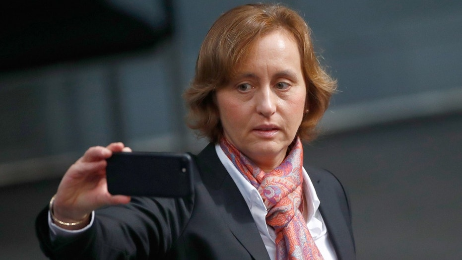 "Co-leader of Germany's Alternative for Germany party Beatrix von Storch is under fire for a tweet she sent that authorities claim was ""incitement to hate."""