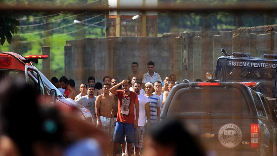 9 deaths reported after inmates battle at Brazilian prison