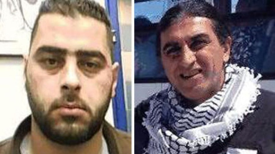 Mohammed Maharmeh, 29, left, and his uncle, Bahar Maharmeh were part of an Iranian terror cell uncovered by Israeli security forces.