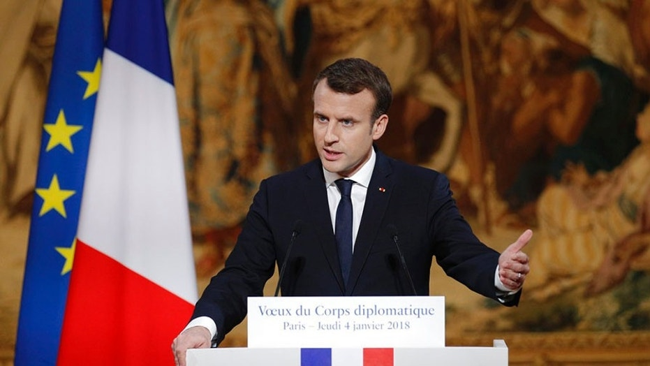 French President Emmanuel Macron has proposed legislation to clamp down on fake news