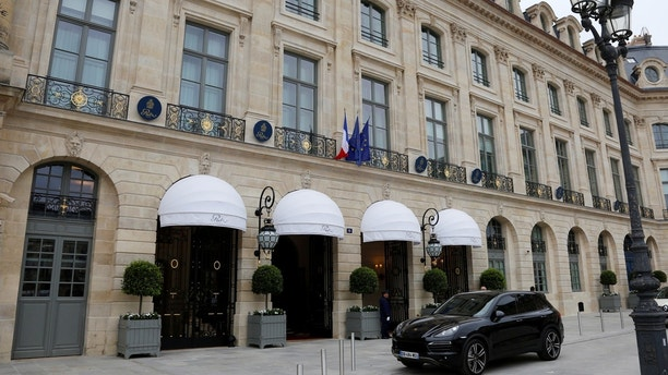 View of the luxury Ritz Paris hotel at the Place Vendome, central Paris, France, June 13, 2016. REUTERS/Jacky Naegelen - D1AETJVHYHAA