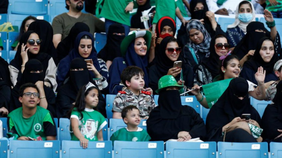 A soccer match schedued for Friday in Jiddah, Saudi Arabia, is supposed to be the first to allow female spectators.