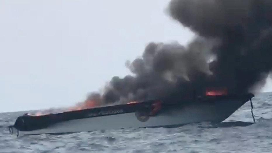 Speedboat fire injures 16 in Thailand