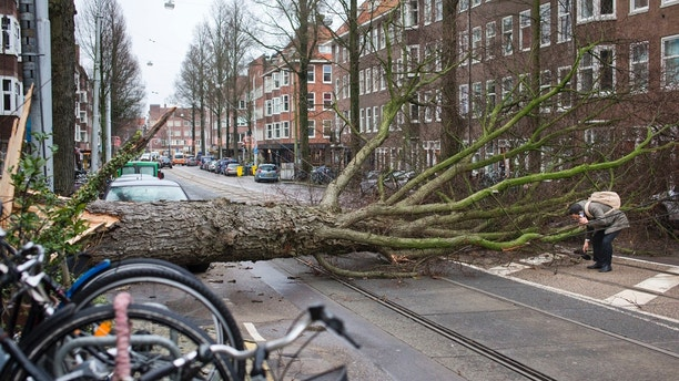 Toll rises to 5 in Germany's strongest storm in 11 years