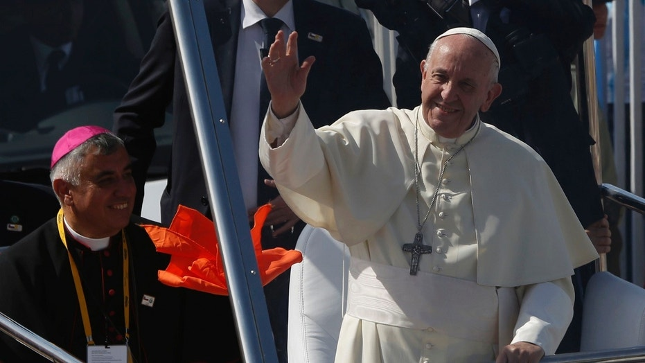 Pope Francis stoked controversy on Thursday in Chile after calling accusations made by victims of sex abuse 'calumny.'