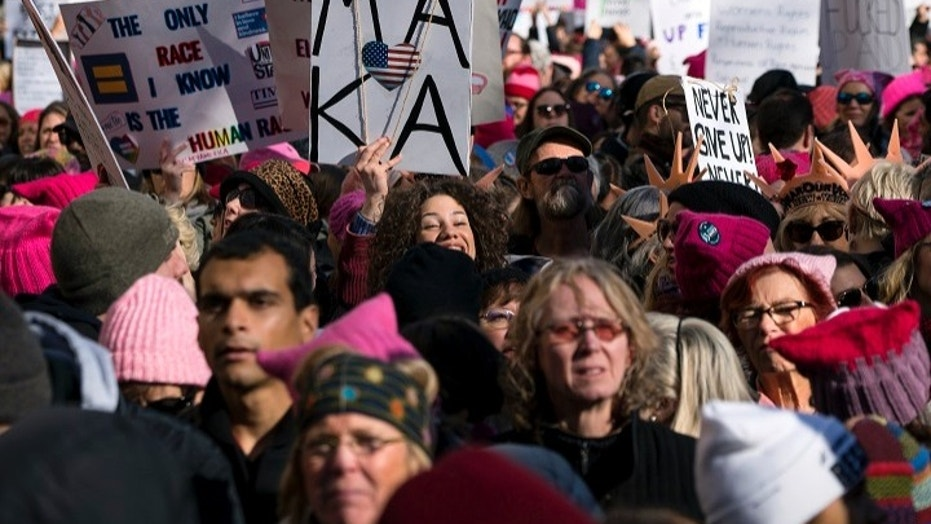A show of solidarity around the world marks 2018 Women's March (foxnews.com)