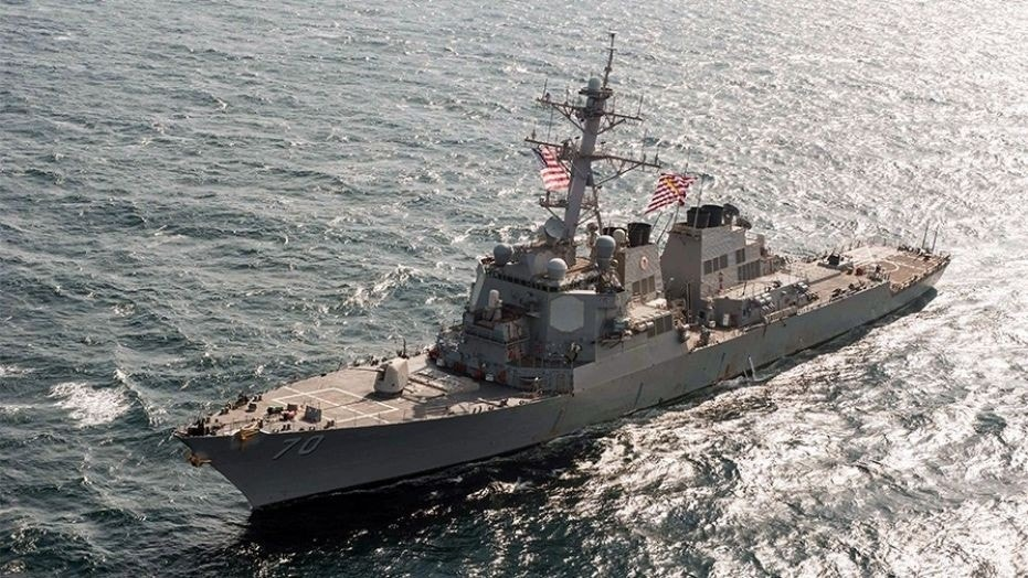 China protests United States warship sailing near disputed Scarborough Shoal